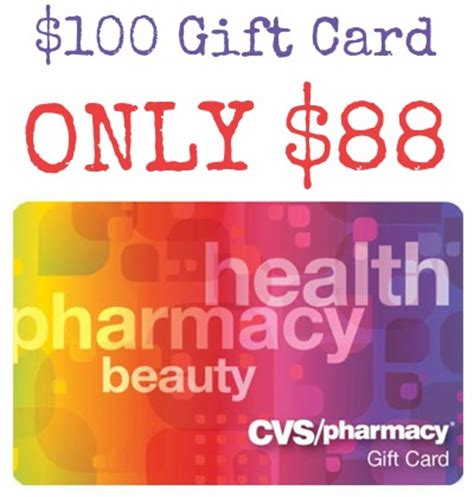 Cvs Gift Cards - 100 cvs gift card for only 88 free shipping