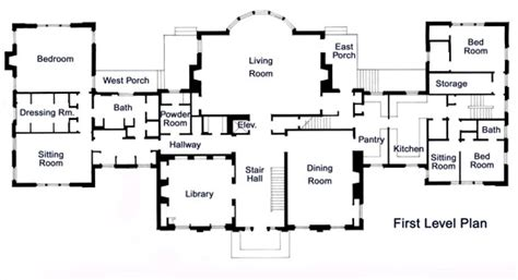 Floor Plans With Measurements the paulson mansion floor plans