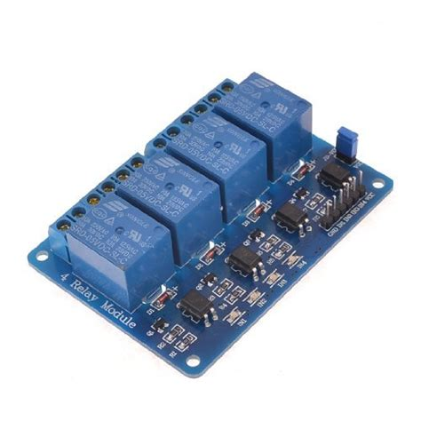 Cuci Gudang Relay Module 4 Channel 5 Volt Dc buy 4 channel 5 volt isolated relay module in india at low cost from dna technology nashik