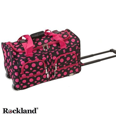 cute pattern luggage travel in style with this cute set of patterned carry on