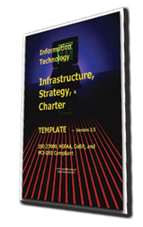 It Infrastructure Strategy And Charter Template Pci Charter Template