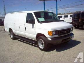 Ford E250 For Sale 2007 Ford E250 Cargo For Sale In Green Bay Wisconsin