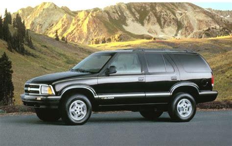 how to fix cars 1998 chevrolet s10 regenerative braking used 1995 chevrolet blazer pricing for sale edmunds