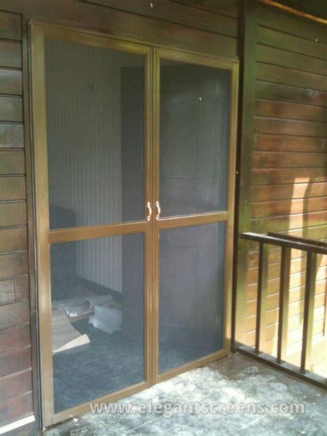 Mesh Door Screen stainless steel mesh insect screen door elegantscreens s