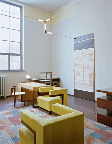 bauhaus interior directors office designed by walter gropius interior