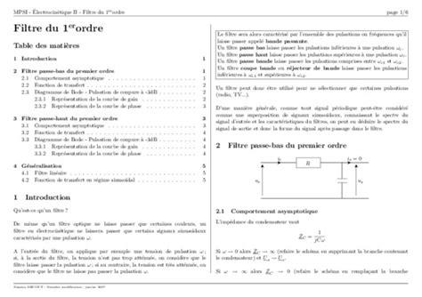 exercices corrigés filtres passifs pdf td diagramme de bode pdf notice manuel d utilisation
