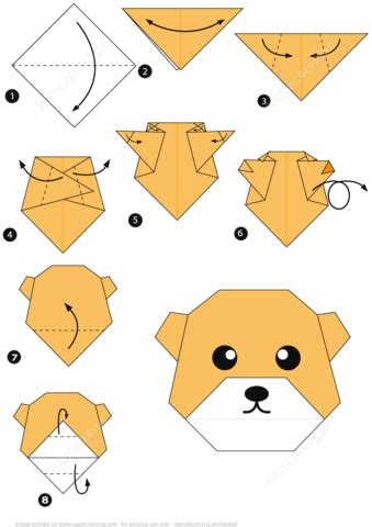 Origami Bears - how to make an origami free