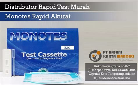 Alat Rapid Test Hiv distributor rapid test murah akurat onelab medika