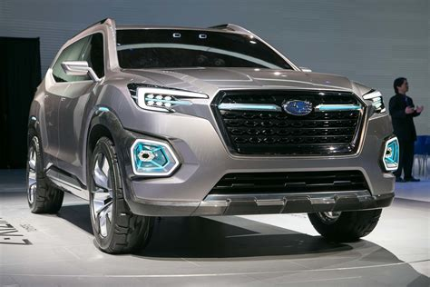 subaru viziv doors future 3 row suv html autos post