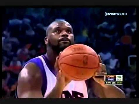 shaquille oneal free throw shaquille o neal funny free throws youtube
