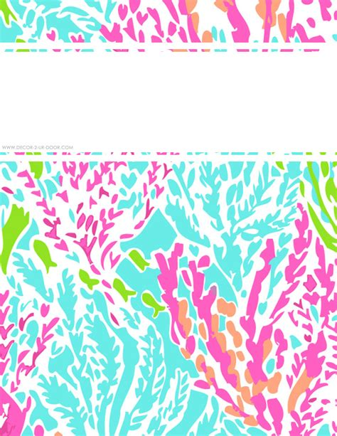 lilly pulitzer binder templates related keywords suggestions for lilly pulitzer binder