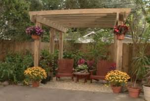 Pergola Plans Free Standing by What To Do With Ugly Pergola