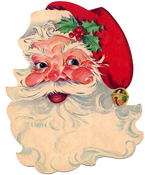 santa clip free vintage clip santa santa santa the