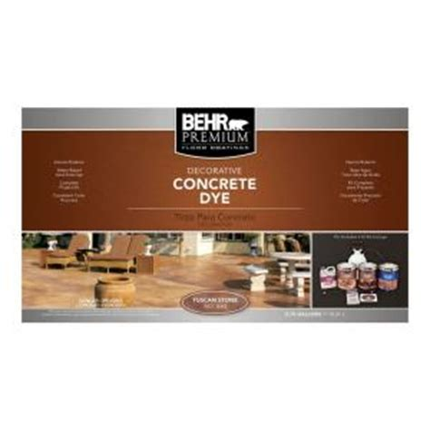 behr premium tuscan concrete dye kit 86036 the home depot