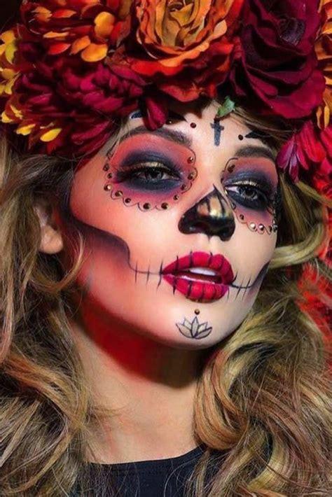 best sugar skull best 25 sugar skull makeup ideas on