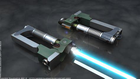 ezra bridger s lightsaber 1 of 2 sw rebels by
