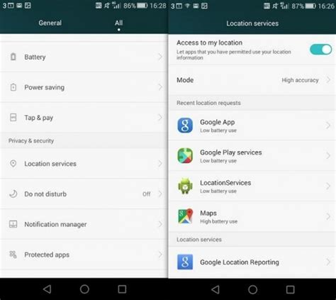 android location here s how you can turn location tracking on your phone