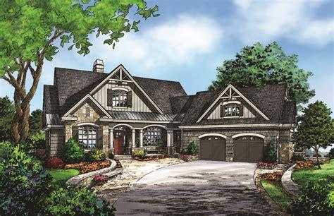 Don Gardner Butler Ridge by Charming Craftsman Cottage With Angled Garage