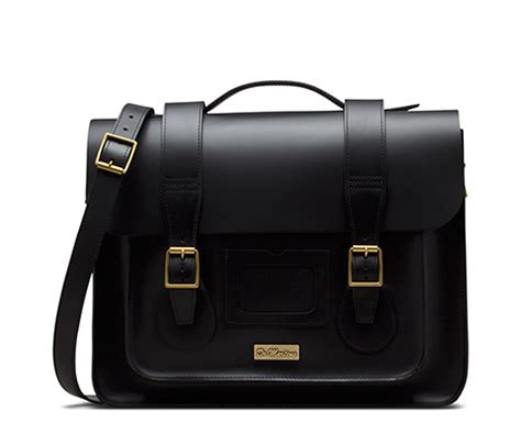 Tas Impor C91427 Black Leather Bag Fashion Korea Kulit Buaya Sling Bag 11 quot smooth leather satchel s accessories offers official dr martens store uk