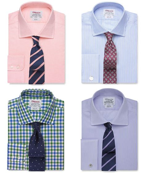 pattern shirt with striped tie how to pair your shirt and tie fashionbeans