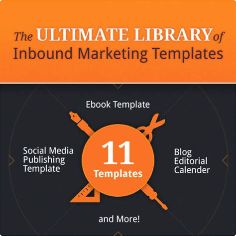 hubspot social media template the ultimate library of inbound marketing templates