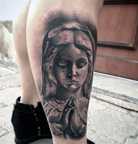 praying mary tattoo designs 100 tattoos for religious design ideas