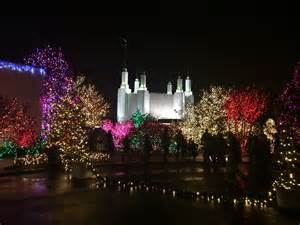 mormon temple dc lights washington d c temple