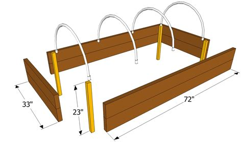 How To Build A Raised Bed Garden Frame Raised Garden Bed Plans Raised Garden Bed Plans Free Build A Raised Bed