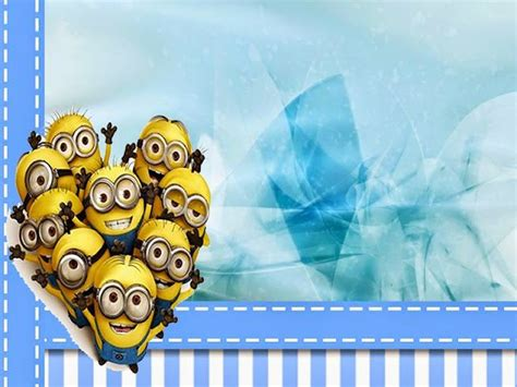 Tshirt 3d Frozen One Stuff minions en fondo azul mini kit para imprimir gratis