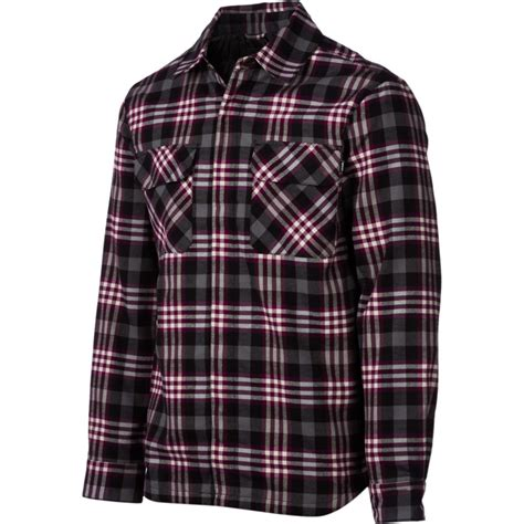 Quilted Shirt Mens by Orage Fud Quilted Flannel Shirt Sleeve S