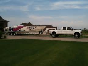 boat lift truck whos towing larger boat with lifted truck page 4