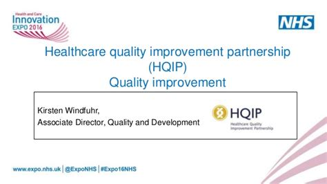 quality improvement using tools and resources