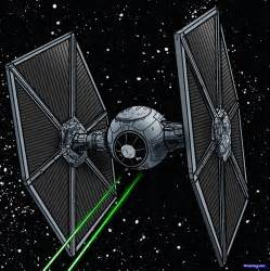 how to draw a tie fighter tie fighter star wars step by