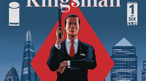 libro kingsman the red diamond mark millar reveals kingsman the red diamond 1 variants by quitely that hashtag show