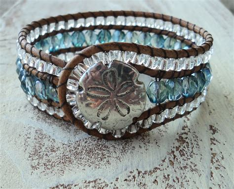 beaded cuff bracelet beaded cuff bracelet blue and silver cuff jewelry