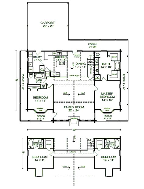 Satterwhite Log Homes Floor Plans | the woodland floor plan satterwhite log homes 4 bedrooms