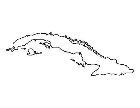 coloring page map of cuba mobile cuba island map for coloring coloring pages