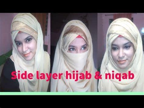 hijab tutorial with niqab dailymotion hijab tutorial side layered party hijab tutorial with