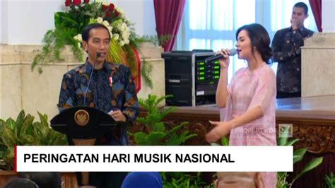 Tshirt Hari Musik Nasional Raisa Minta Sepeda Ke Jokowi Saat Presiden Jokowi Cari