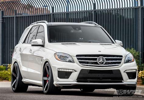 "2013 Mercedes Benz GLE/ML Class with 22"" Vossen CV3 R in Gloss Graphite wheels Wheel"