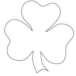 Shamrock Outline Clipart by Shamrock Pictures Cliparts Co