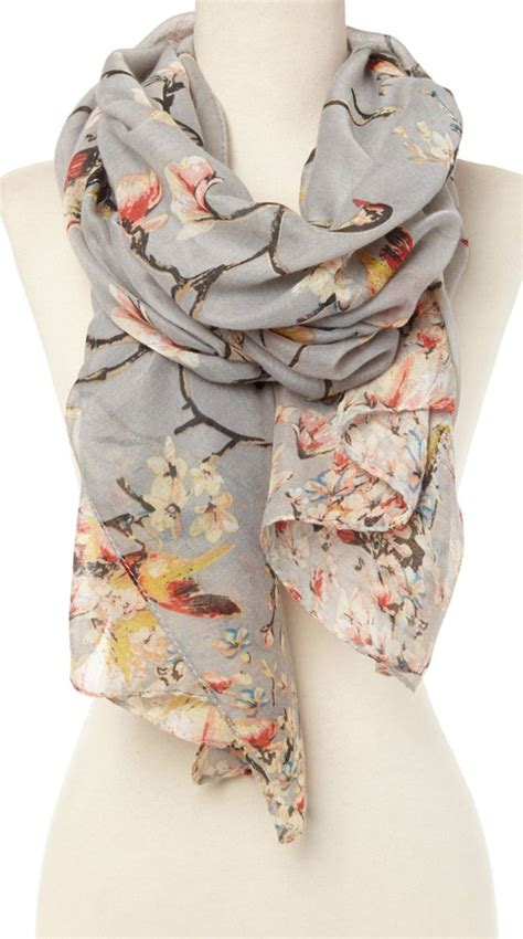 best 25 floral scarf ideas on fulares con