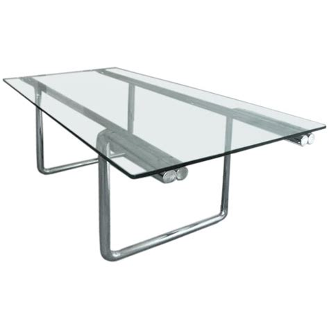 metal and glass desk table by castelli for sale at 1stdibs