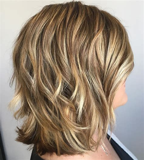 hairstyles with lots of color 20 inspirational long choppy bob hairstyles