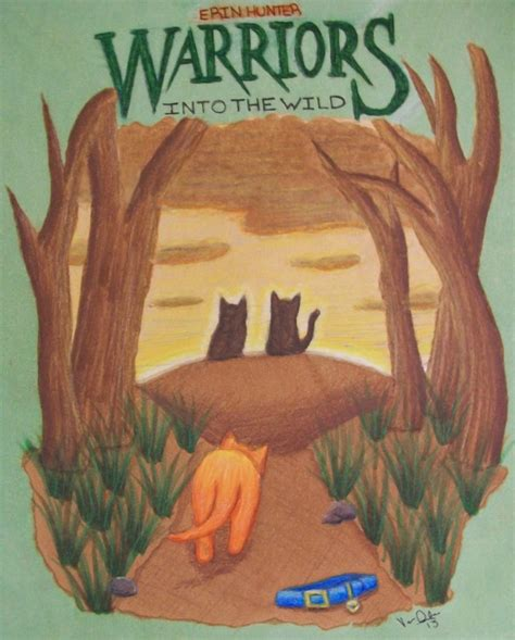 The Warrior Book Report by Warriors Into The Book Report Cover By Nessajojo03 On Deviantart