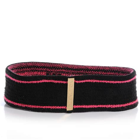 Louis Vuitton Headband louis vuitton stephen sprouse graffiti headband fuchsia 60715
