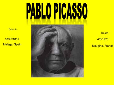 picasso paintings ppt pablo picasso powerpoint by charlottebaldwin teaching