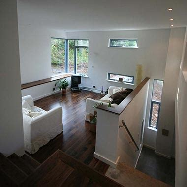 like this split level house interior house