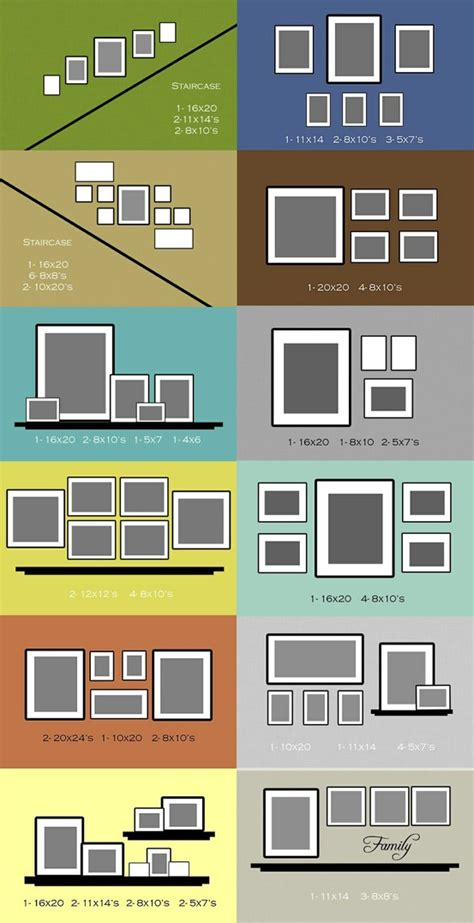 hanging picture frames ideas frame layout ideas living room and decorating