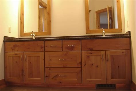 Kitchen Cabinets As Bathroom Vanity by Bathroom Vanity Cabinets Wooden Handmade